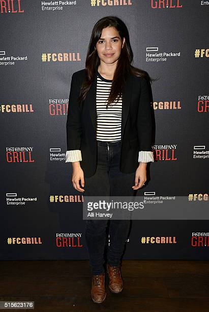 America Ferrera attends the Fast Company Grill with Robert Kirkman David Alpert Patrick Fugit on March 14 2016 in Austin Texas