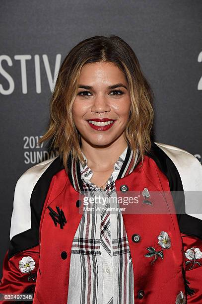 America Ferrera attends the 'GENTEFIED' Premiere at Egyptian Theatre on January 23 2017 in Park City Utah