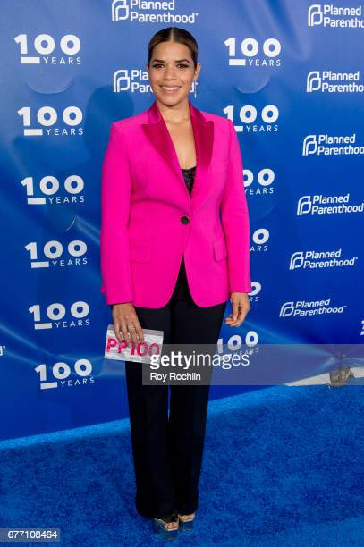 America Ferrera attends the Planned Parenthood 100th Anniversary Gala at Pier 36 on May 2 2017 in New York City