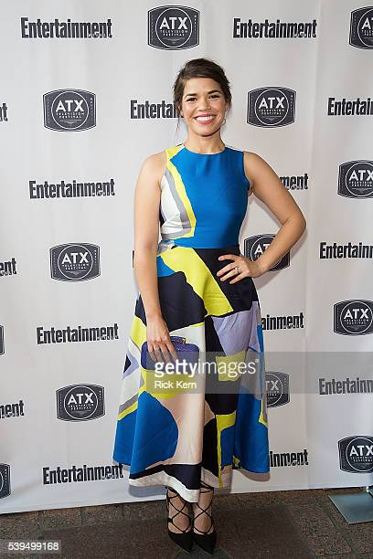 America Ferrera attends the Ugly Betty Reunion presented with Entertainment Weekly at the ATX Television Festival in Austin TX on Saturday June 11...