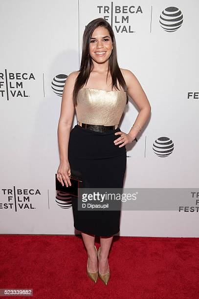America Ferrera attends Tribeca Talks After the Movie 'Special Correspondents' during the 2016 Tribeca Film Festival at John Zuccotti Theater at BMCC...