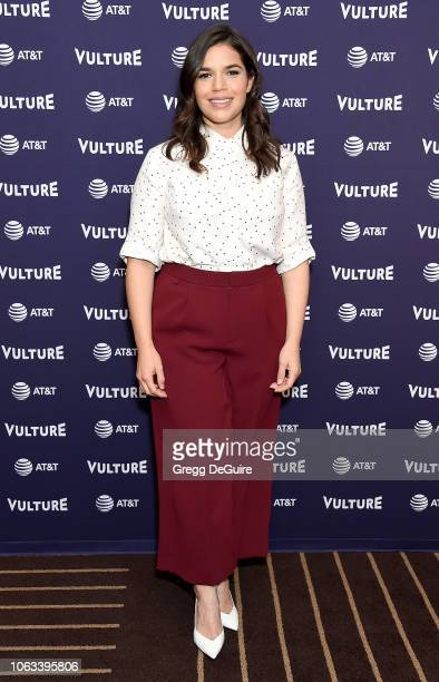 America Ferrera attends Vulture Festival Los Angeles 2018 at The Hollywood Roosevelt Hotel on November 18 2018 in Los Angeles California