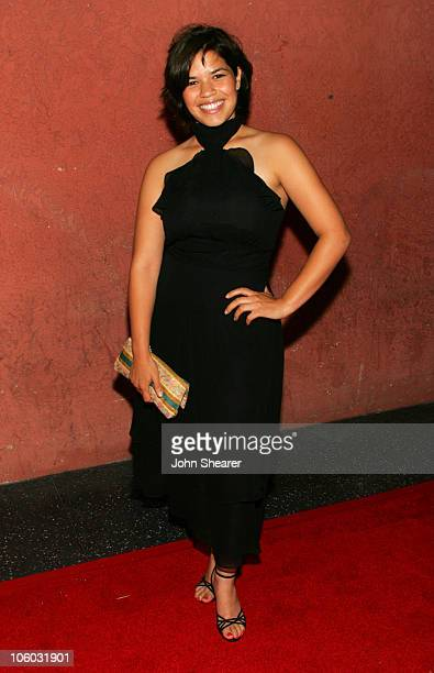 America Ferrera during The AIDS Healthcare Foundation Presents 'Hot In Hollywood' at Henry Fonda Theatre in Hollywood California United States