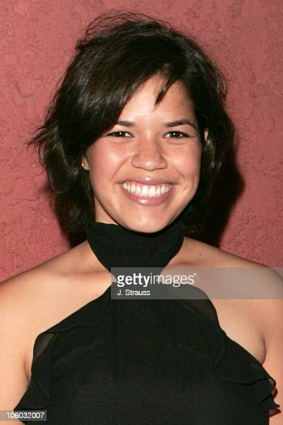 America Ferrera during The AIDS Healthcare Foundation Presents 'Hot in Hollywood' at The Henry Fonda/Music Box Theatre in Hollywood California United...