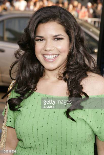 America Ferrera during 'The Sisterhood of the Traveling Pants' Los Angeles Premiere at Grauman's Chinese Theatre in Hollywood California United States