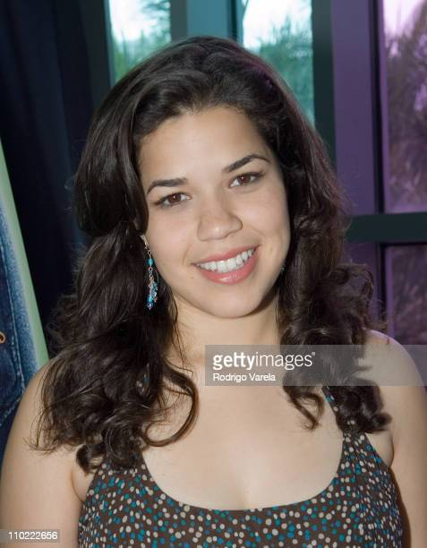 America Ferrera during 'The Sisterhood of the Traveling Pants' Miami Screening at Regal South Beach Cinema in Miami Beach Florida United States