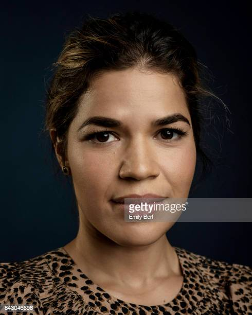 America Ferrera is photographed at the Sundance NEXT FEST at The Theatre At The Ace Hotel on August 12 2017 in Los Angeles California
