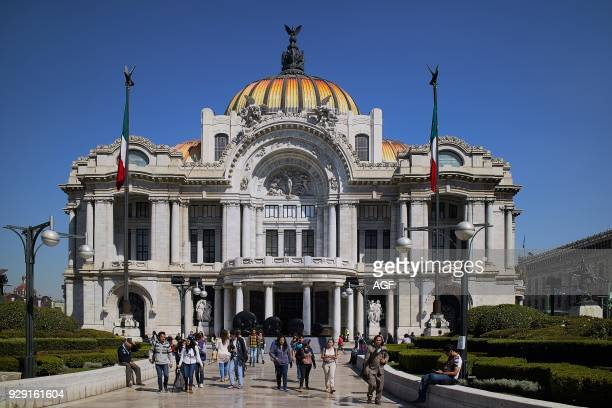 America Fine Arts Palace Historical Center Juarez Avenue Mexico Mexico City