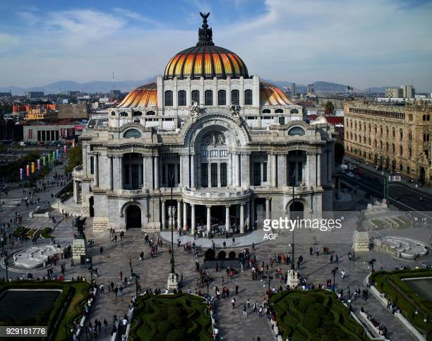 America Fine Arts Palace Historical Center Juarez Avenue Mexico Mexico City Main Post Office