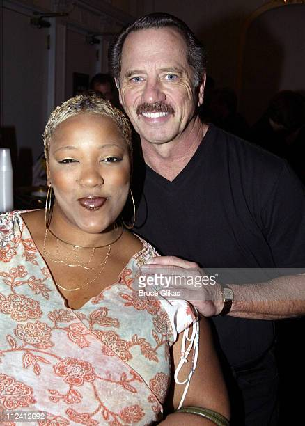 'America Idol' star Frenchie Davis who is in 'RENT' and Tom Wopat of '42nd Street'