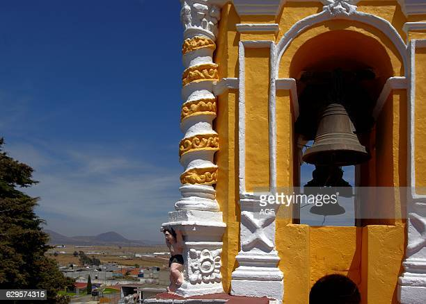 America Mexico Tlaxcala State Calpulalpan City St Antoine Franciscan Church and St Judas Convent