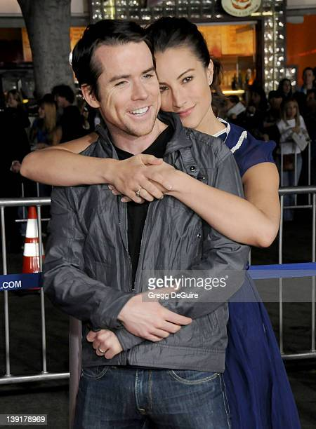 America Olivo and Christian Campbell arrive at 'Up In The Air' Los Angeles Premiere at Mann's Village Theater on November 30 2009 in Westwood...