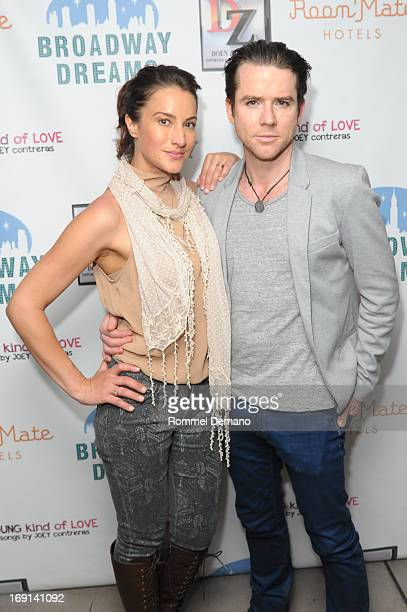 America Olivo and Christian Campbell attend the Broadway Dreams Foundation Circle of Dreams launch at Celsius on May 20 2013 in New York City
