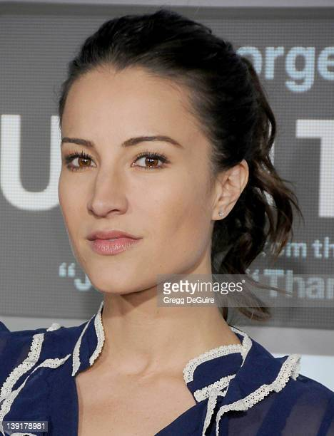 America Olivo arrives at 'Up In The Air' Los Angeles Premiere at Mann's Village Theater on November 30 2009 in Westwood California