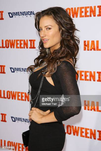 America Olivo arrives to the Los Angeles premiere of 'Halloween II' held at the Grauman's Chinese Theatre on August 24 2009 in Hollywood California