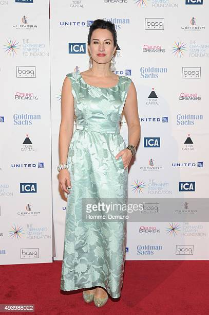 America Olivo attends 11th Annual Orphaned Starfish Foundation's New York Gala at Cipriani Wall Street on October 23 2015 in New York City