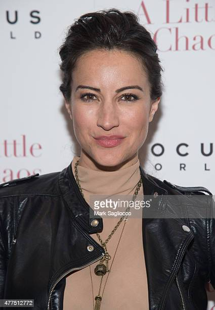 America Olivo attends 'A Little Chaos' New York Premiere at the Museum of Modern Art on June 17 2015 in New York City