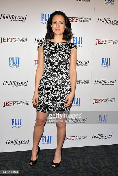 America Olivo attends a screening of 'Jeff Who Lives at Home' at the Sunshine Landmark on March 12 2012 in New York City