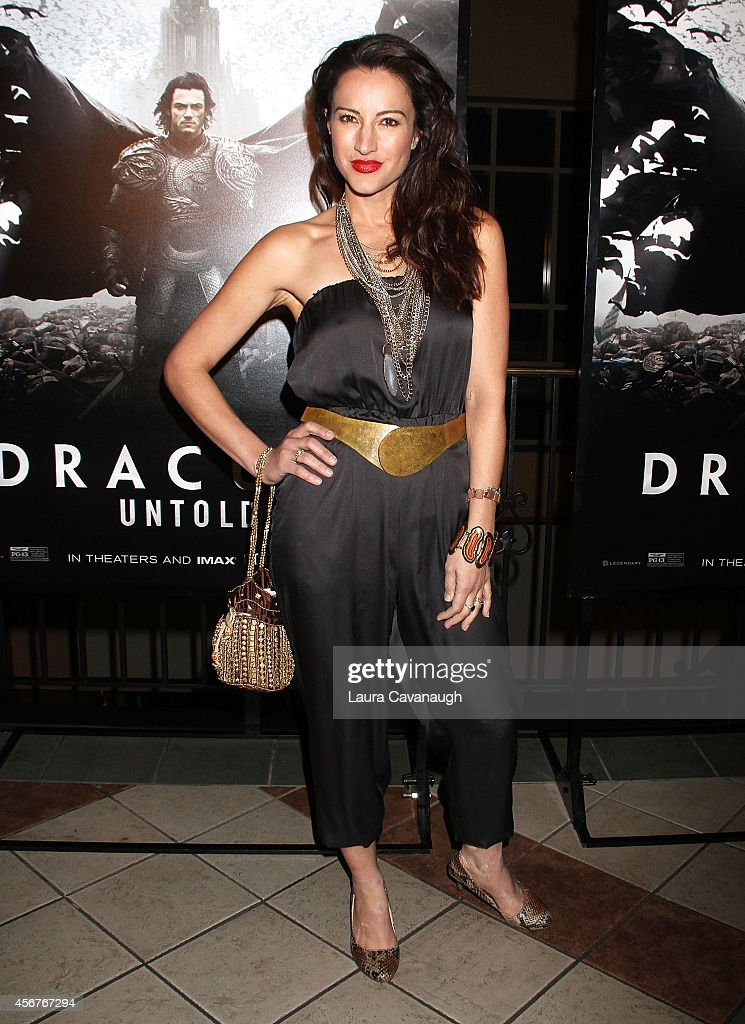 America Olivo attends 'Dracula Untold' New York Premiere at AMC Loews 34th Street 14 theater on October 6, 2014 in New York City.