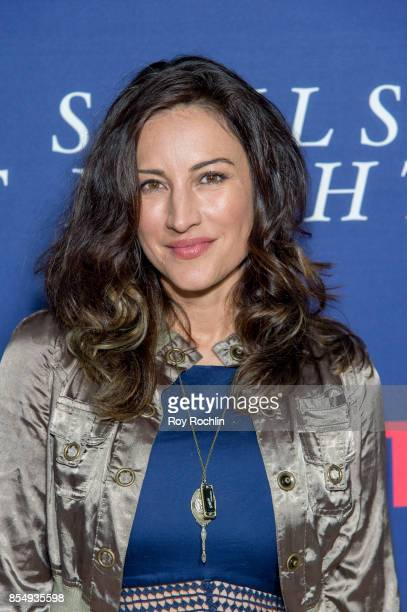 America Olivo attends Netflix hosts the New York premiere of 'Our Souls At Night' at The Museum of Modern Art on September 27 2017 in New York City