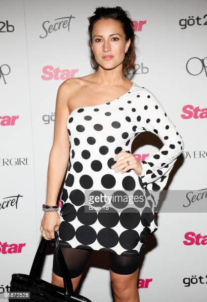 America Olivo attends Star Magazine's 5th Year Anniversary Celebration at Bardot on October 13 2009 in Los Angeles California