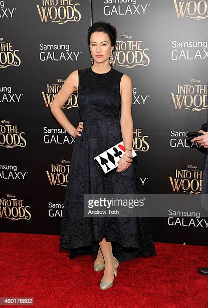 America Olivo attends the 'Into The Woods' world premiere at Ziegfeld Theater on December 8 2014 in New York City