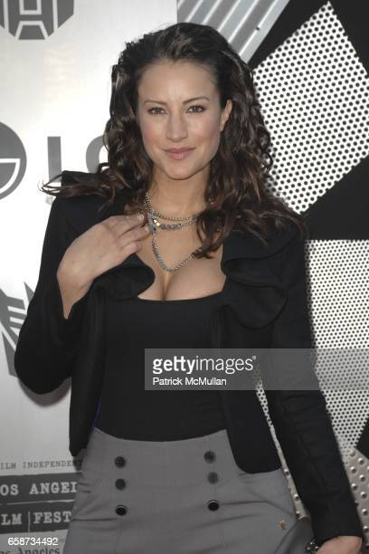 America Olivo attends Transformers Revenge of the Fallen Premiere at Mann Village Theatre on June 22 2009 in Westwood California