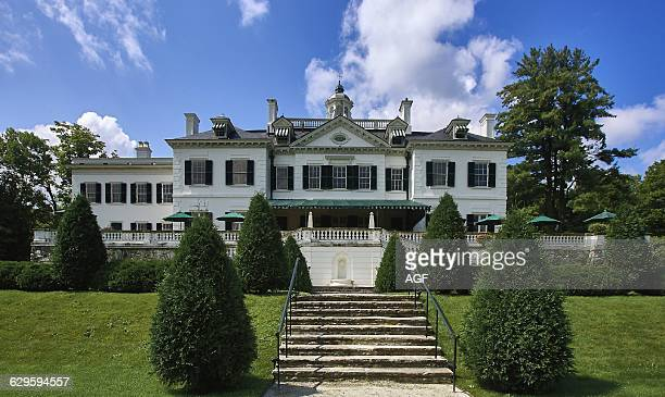 America Usa Massachusetts State Berkshire Area Lenox Town The Mount The Edith Wharton's House Edith Wharton Was A Pulitzer Prizewinning American...