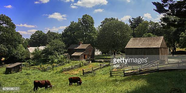 America Usa Massachusetts State Berkshire Area Sturbridge Village Old Sturbridge Village is a living museum which recreates life in rural New England...
