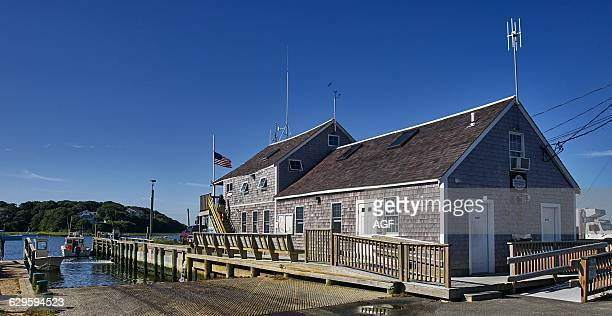 America Usa Massachusetts State Cape Cod Area Chatham Town the Harbour