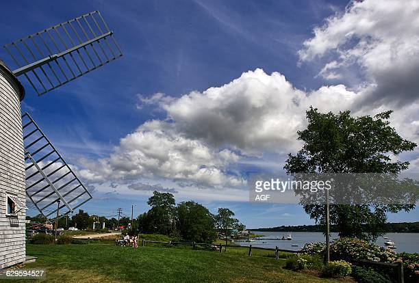 America Usa Massachusetts State Cape Cod Area Orleans Town the Jonathan Young Windmill Built In 1720 One of the Oldest In Usa