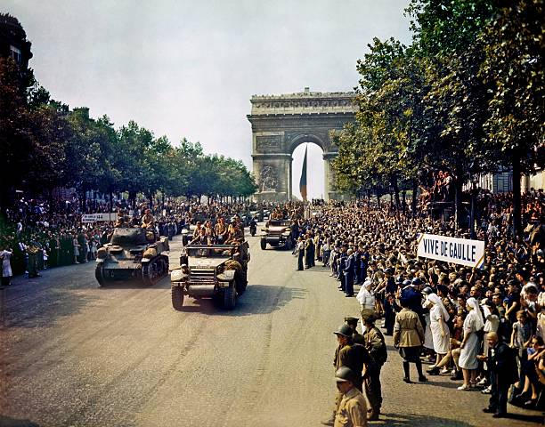 FRA: 25th August 1944 - Liberation Of Paris
