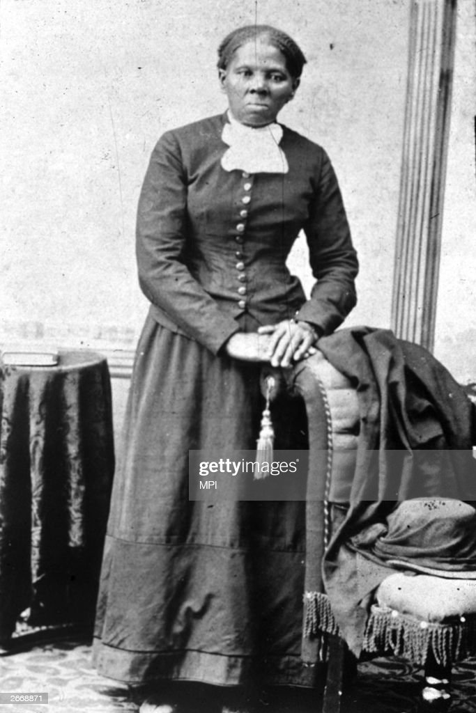 American abolitionist leader Harriet Tubman (1820 - 1913) who escaped slavery by marrying a free man and led many other slaves to safety using the abolitionist network known as the underground railway.