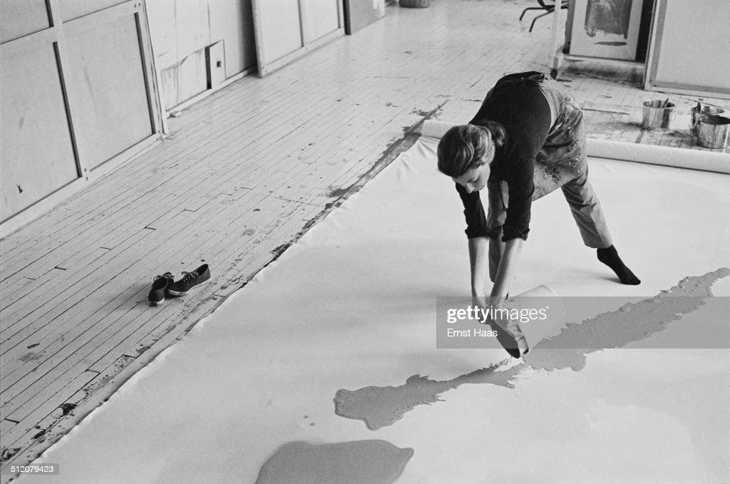 Helen Frankenthaler : Foto di attualità