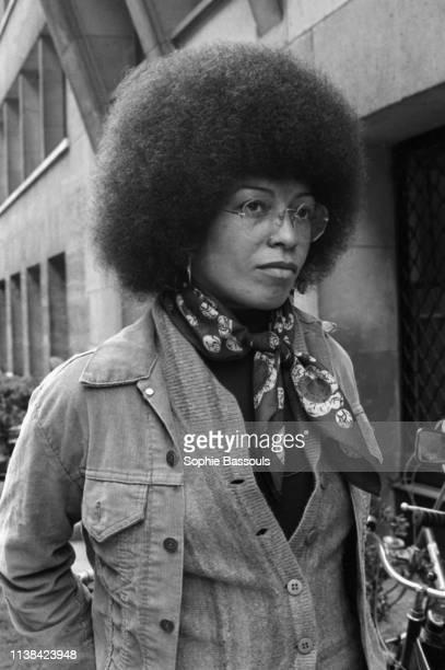 American Activist Angela Davis in May 1975