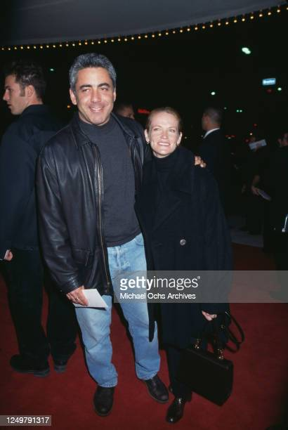 American actor Adam Arkin and American actress Phyllis Lyons attend the AFI Benefit premiere of 'Good Will Hunting' at Mann Bruin Theatre in Los...