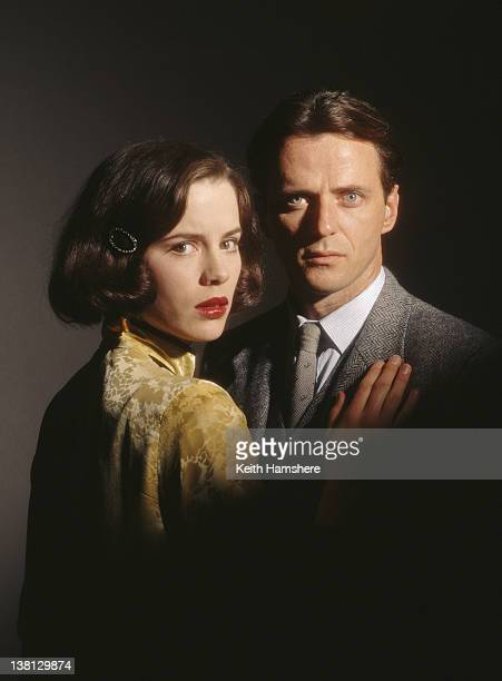 American actor Aidan Quinn with actress Kate Beckinsale in a publicity still for the film 'Haunted' 1995