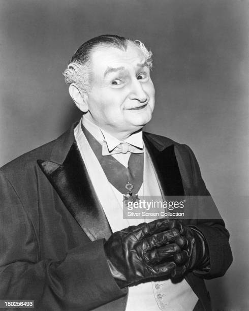 American actor Al Lewis as Grandpa Munster in a promotional portrait for the TV comedy horror series 'The Munsters' circa 1965