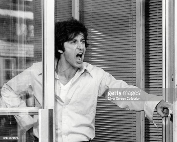 American actor Al Pacino as Sonny Wortzik in 'Dog Day Afternoon' directed by Sidney Lumet 1975