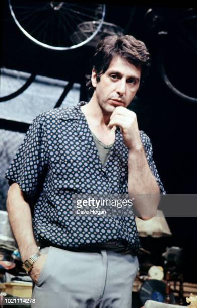 American actor Al Pacino on stage in David Mamet's play 'American Buffalo' in the West End, London in 1984.