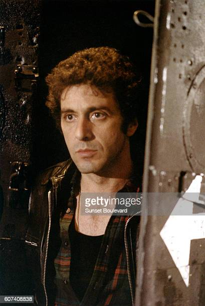 American actor Al Pacino on the set of Cruising written and directed by William Friedkin