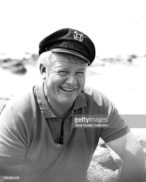 American actor Alan Hale Jr as Skipper in the US sitcom 'Gilligan's Island' circa 1965