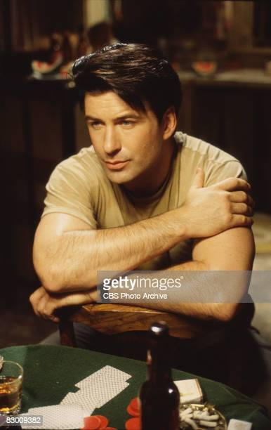 American actor Alec Baldwin in a scene from the television production of 'A Streetcar Named Desire,' the Pulitzer Prize-wining play by Tennesse...