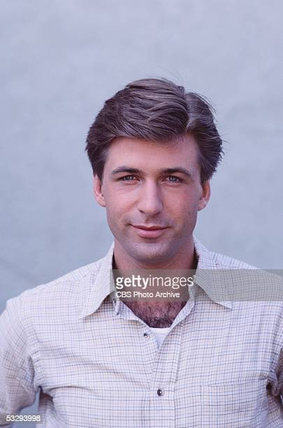 American actor Alec Baldwin in the episode 'Hanging Fire' of the CBS prime time soap opera 'Knot's Landing'