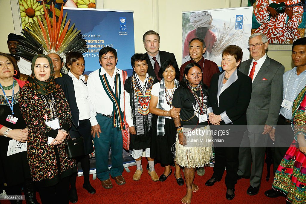Equator Prize 2015 Award Ceremony - Reception : News Photo