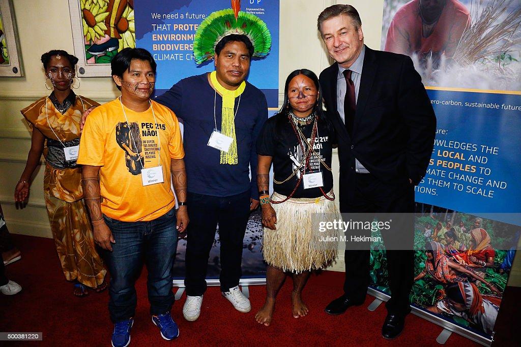 Equator Prize 2015 Award Ceremony - Reception : News Photo