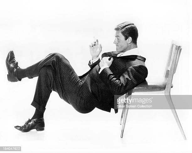 American actor and comedian Dick Van Dyke as Rob Petrie in the American sitcom 'The Dick Van Dyke Show' circa 1963