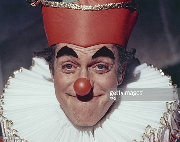 American actor and comedian Dick Van Dyke in a clown costume circa 1970
