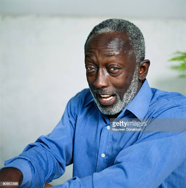 American actor and comedian Garrett Morris circa 1995 He was part of the original cast of comedy sketch show 'Saturday Night Live'