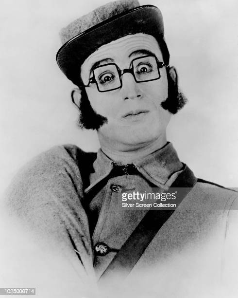 American actor and comedian Harold Lloyd as a Confederate soldier in a publicity still for the film 'Grandma's Boy, 1922.